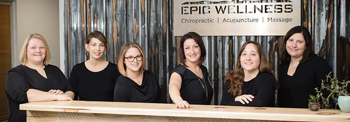 Chiropractor South Burlington VT Dr. Wendy Mehaffey and Team